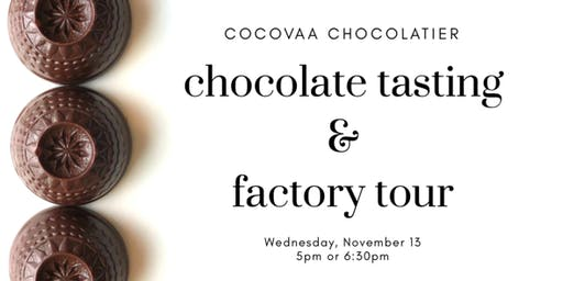 Chocolate Tasting & Factory Tour
