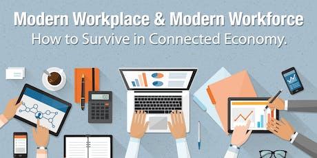 Modern Workplace & Modern Workforce tickets