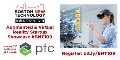 Boston New Technology Augmented & Virtual Reality Startup Showcase #BNT109 tickets