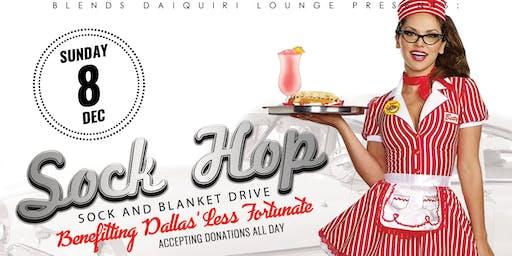 Sock Hop! Sock and Blanket Fundraiser