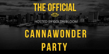THE OFFICIAL CANNAWONDER PARTY! tickets