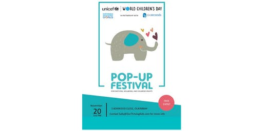 Pop-Up Festival for Childrens Wellbeing