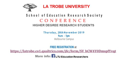 Showcasing the work of Higher Degree Research in 'EDUCATION'