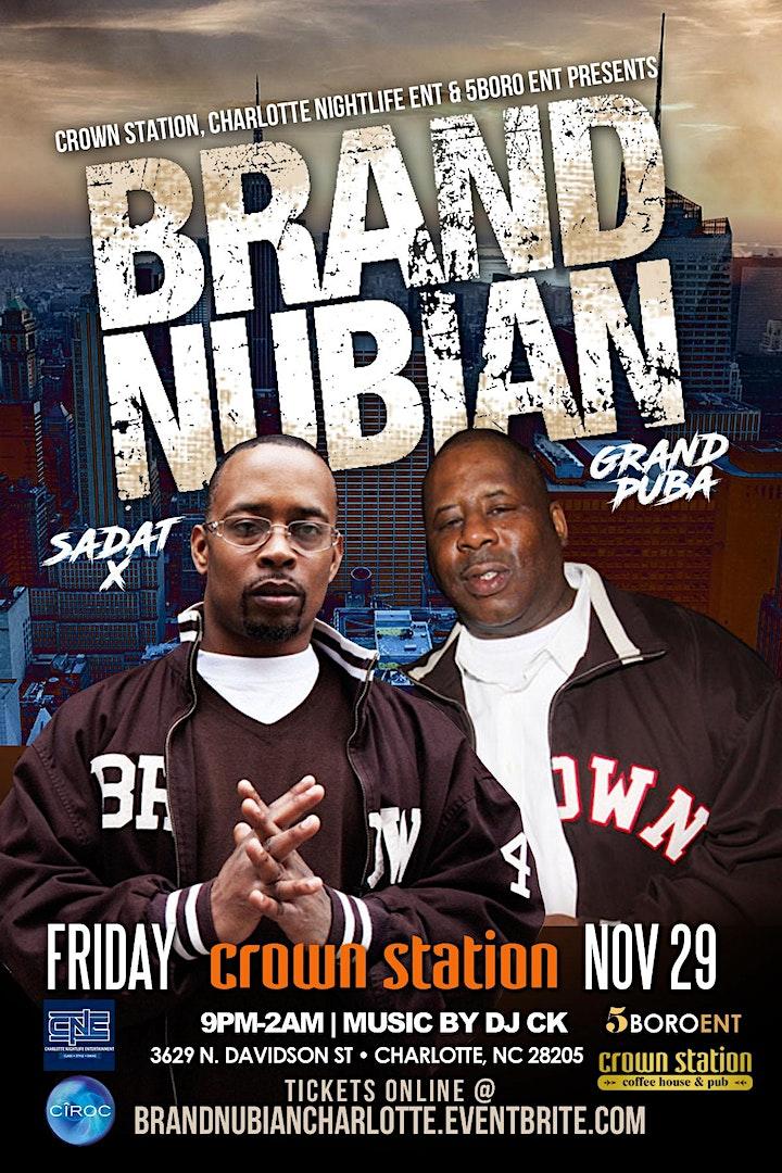 Brand Nubian @ Crown Station Charlotte image