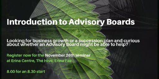 Introduction to Advisory Boards