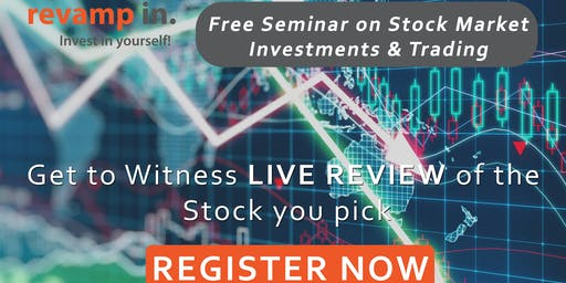Free Seminar on Stock Market Investments & Trading| Live Review