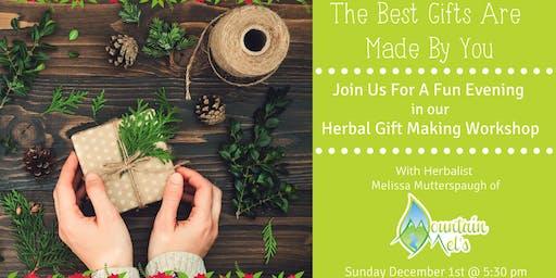 Herbal Gift Making Workshop