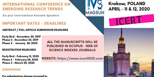 SCOPUS  International Conference on Emerging Research Trends