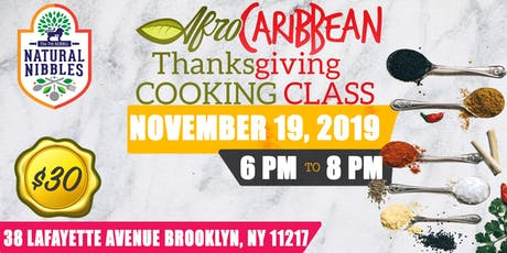 AfroCaribbean Thanksgiving Cooking Class tickets