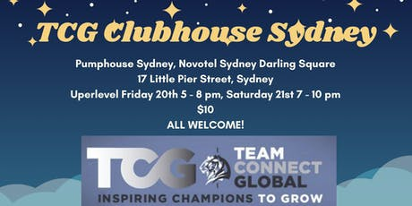 TCG CLUBHOUSE SYDNEY INTERNATIONAL 2020 tickets