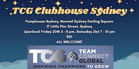 TCG CLUBHOUSE SYDNEY INTERNATIONAL 2020 tickets