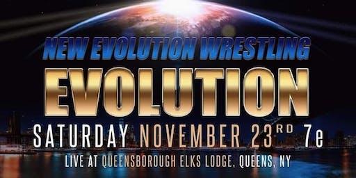 New Evolution wrestling