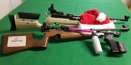 Christmas Special - Parent and Child Air Rifle/Pistol Session Sun 29 Dec tickets