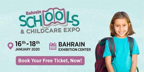 Bahrain Schools & Childcare Expo 2020 tickets