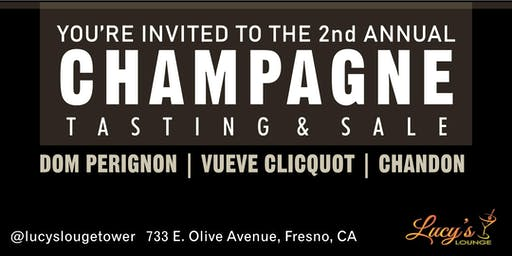 Lucy's Lounge Champagne Tasting & Sale