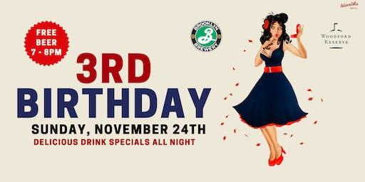 3rd Birthday at The Silverlake Social!