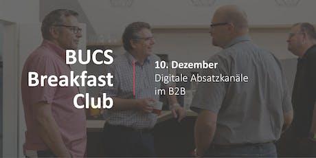 BUCS Breakfast Club |  Digitale Absatzkanäle im B2B Tickets