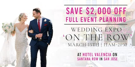 WEDDING EXPO ON THE ROW tickets