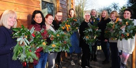 CHRISTMAS WREATH WORKSHOP IN PENGE tickets