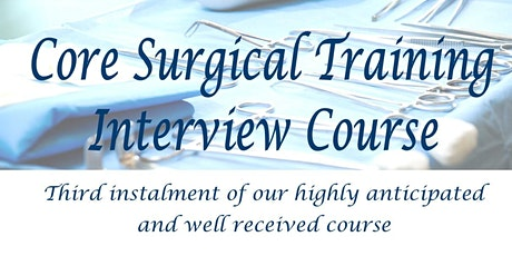 Core Surgical Training Interview Course: Harlow tickets