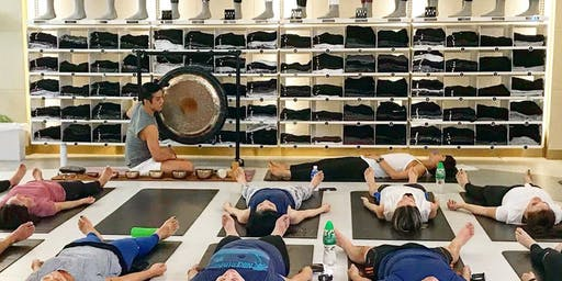 Mindful Movements and Gong Bath with Malbert Lee