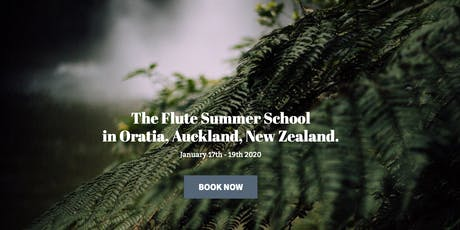 The Flute Summer School tickets
