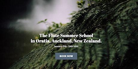 The Flute Summer School tickets