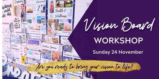 Vision Board Workshop - Adelaide