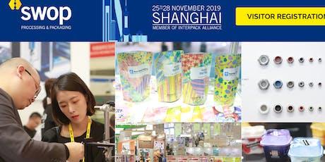 SWOP 2019 Shanghai tickets