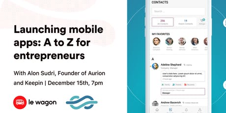 Launching a mobile app: A to Z for entrepreneurs tickets