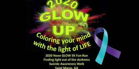 GLOW Up: Suicide Prevention Event & 5K tickets