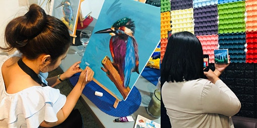 ACRYLIC PAINTING WORKSHOP