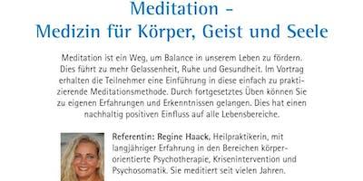 Meditation-Medizin für Körper, Geist und Seele- Wozu dient die Meditation?