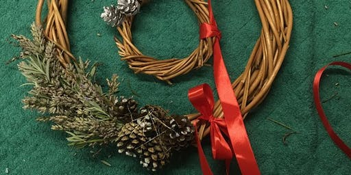 Willow wreaths for Winter