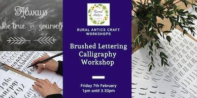 Brushed Lettering Calligraphy Workshop