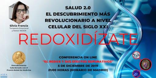 SALUD 2.0. EL REDOX Y SUS EFECTOS DEPURATIVOS EN EL ORGANISMO