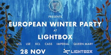 European Nights Winter Party tickets