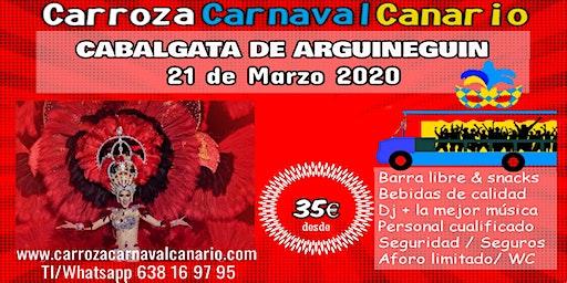 Entradas Carroza Carnaval Arguineguin - Mogán 2020 - Gran Canaria