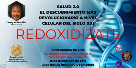 SALUD 2.0. EL REDOX COMO COMPLEMENTO DE HÁBITOS SALUDABLES. entradas