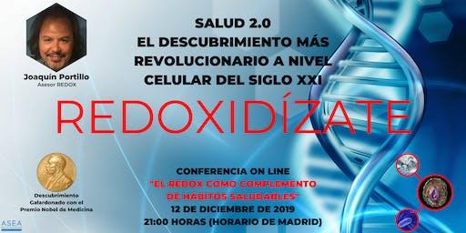 SALUD 2.0. EL REDOX COMO COMPLEMENTO DE HÁBITOS SALUDABLES.
