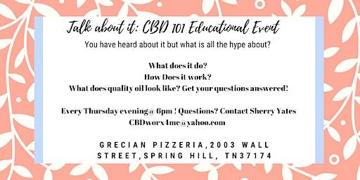 Talk About It: CBD 101 Educational Event