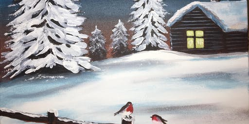 Christmas Paint Party Event 'Winter Hideaway' @ The Rose & Crown, OUNDLE