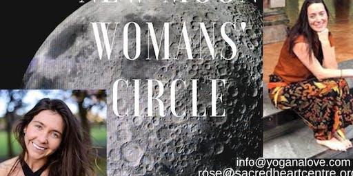 November New Moon Womans Circle
