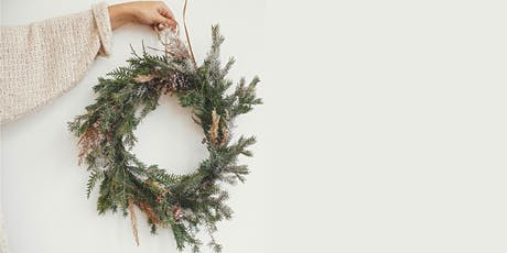 Make your own Native Australian Botanicals Christmas Wreath tickets