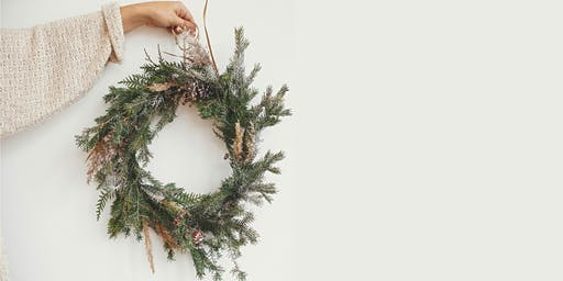 Make your own Native Australian Botanicals Christmas Wreath