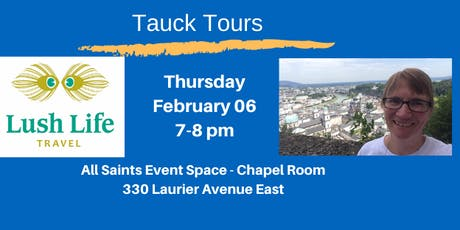 Tauck Tours tickets