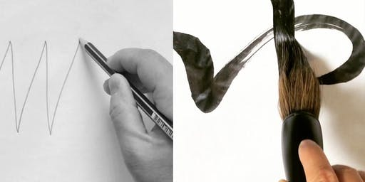 2-DAY Introduction to Calligraphy with Pencil and Brush