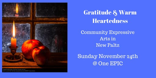Lovers of Writing and Theater, Join Us! November Theme Gratitude & Warm Heartedness