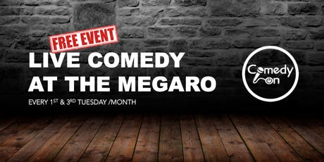 Comedy at the Megaro tickets