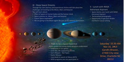 Session 1 - Path to be a Space Scientist (Age 10+)